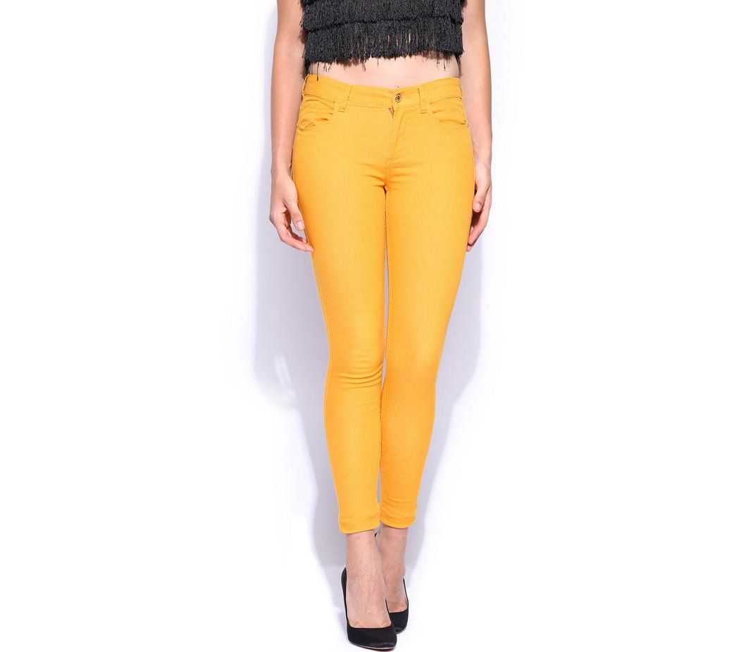 db830c8c62d9 Women s Fashion    Western Clothing    Jeans    Women s Yellow Denim Jeans  SA-J14 - Savers.pk - Everything you are looking for!