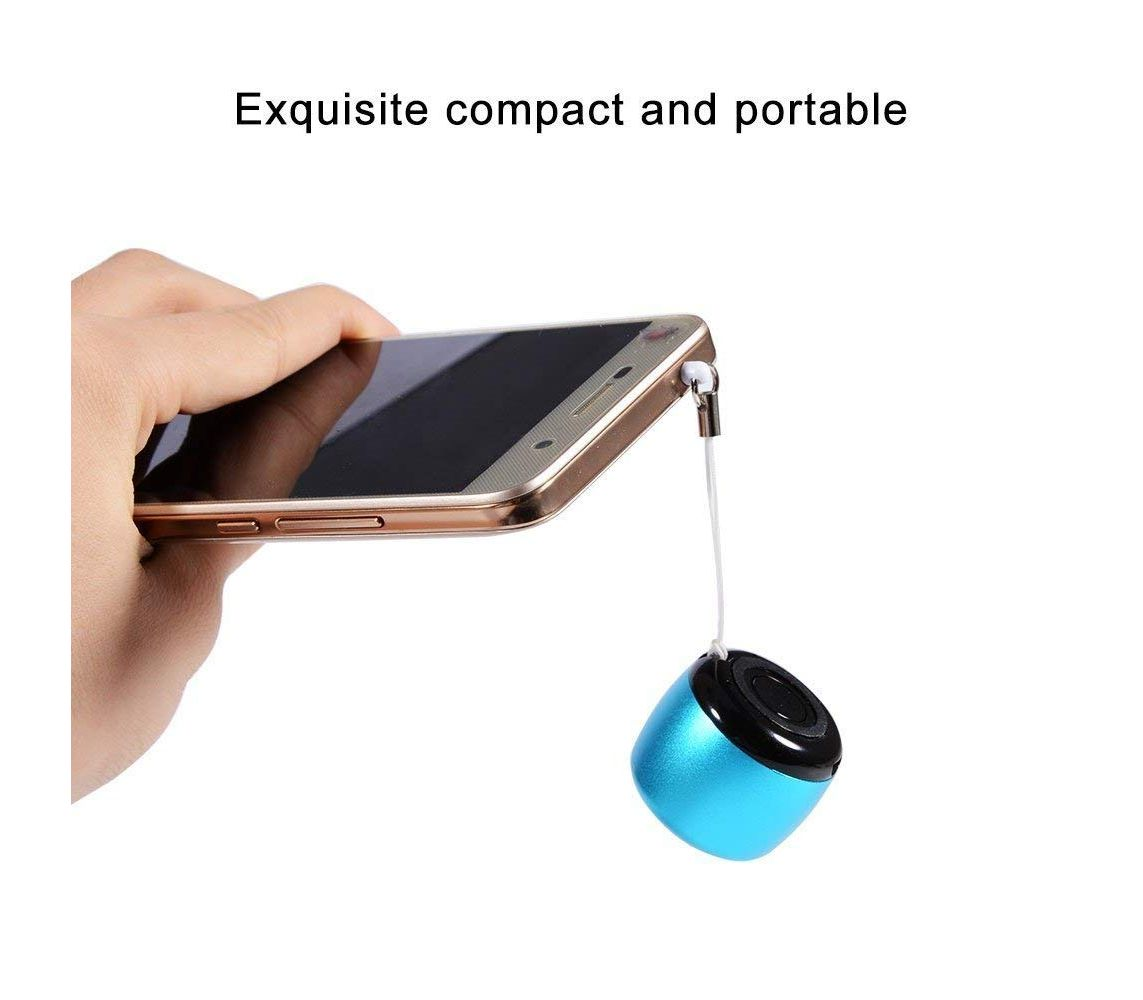 World's Smallest Coin Size Bluetooth Speaker