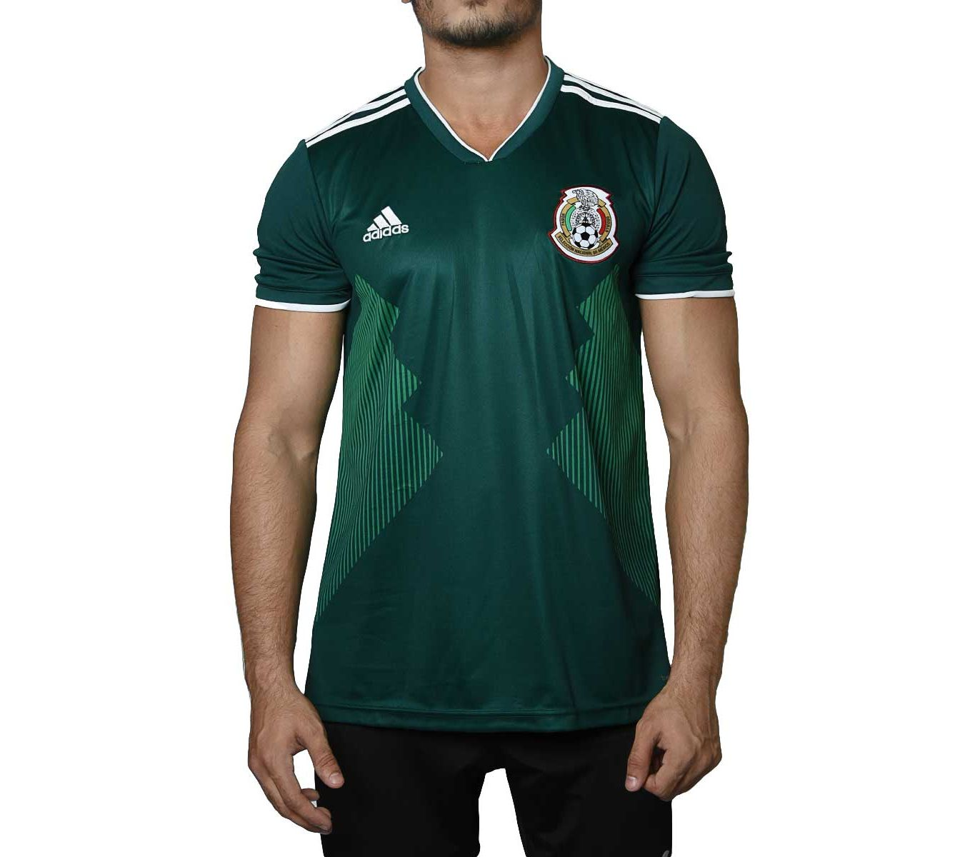 size 40 d5779 067e5 Mexico - Fan Version - Half Sleeves - Home Jersey - World Cup 2018 By  Fasilite