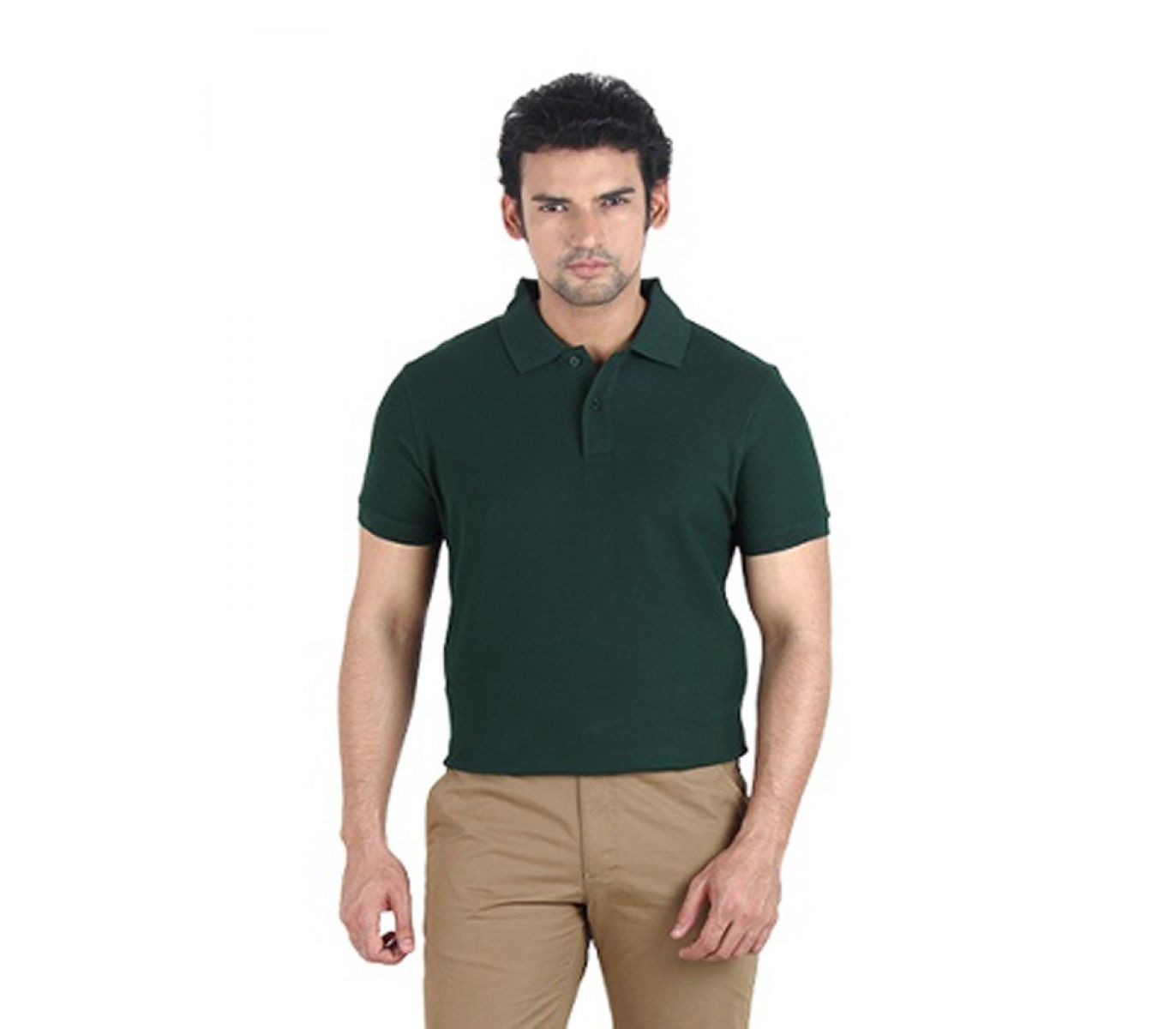 6ae54f53031282 14th August 2018 :: Wear Bank Dark Green Polo T Shirt for Men - Savers.pk -  Everything you are looking for!