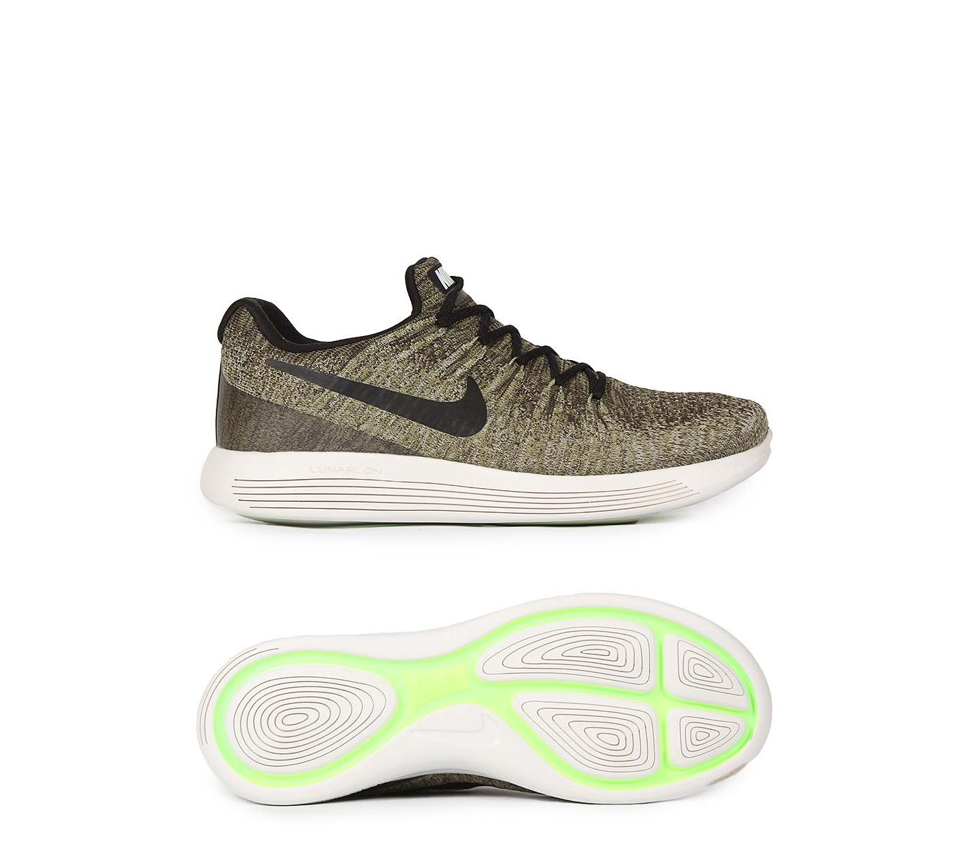 df36e7fe132c Men s Fashion    Footwear    Lifestyle   Sports Shoes    Fasilite Lunar  Epic Low Flyknit 2 - Green - Savers.pk - Everything you are looking for!