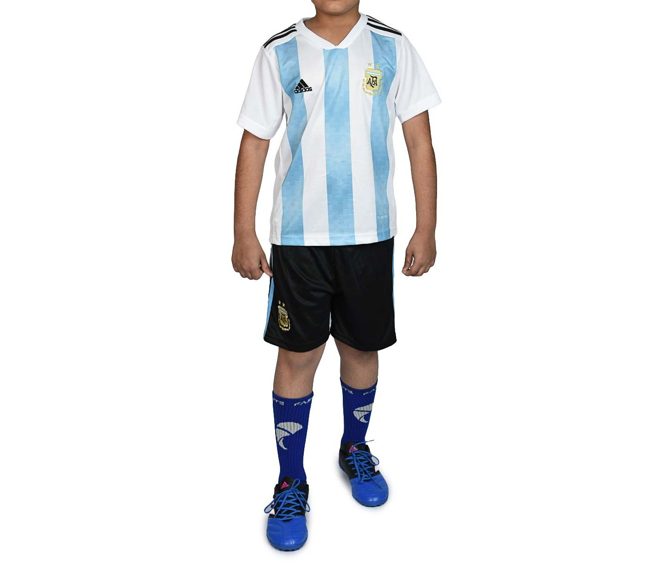 d8cd3452c Kid's Store :: Kids Fashion :: ADIDAS Argentina - Half Sleeves - Kids Home  Kit - World Cup 2018 - Savers.pk - Everything you are looking for!