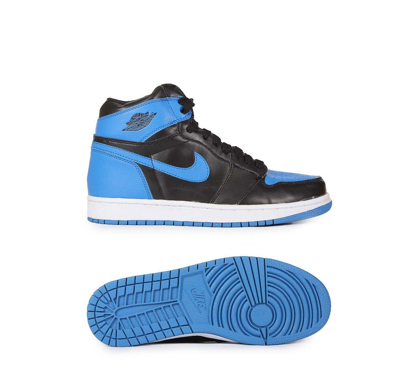 quality design cce02 6b4f9 Men s Fashion    Footwear    Lifestyle   Sports Shoes    Fasilite Air Jordan  1 Retro High OG - Blue   Black - Savers.pk - Everything you are looking for!