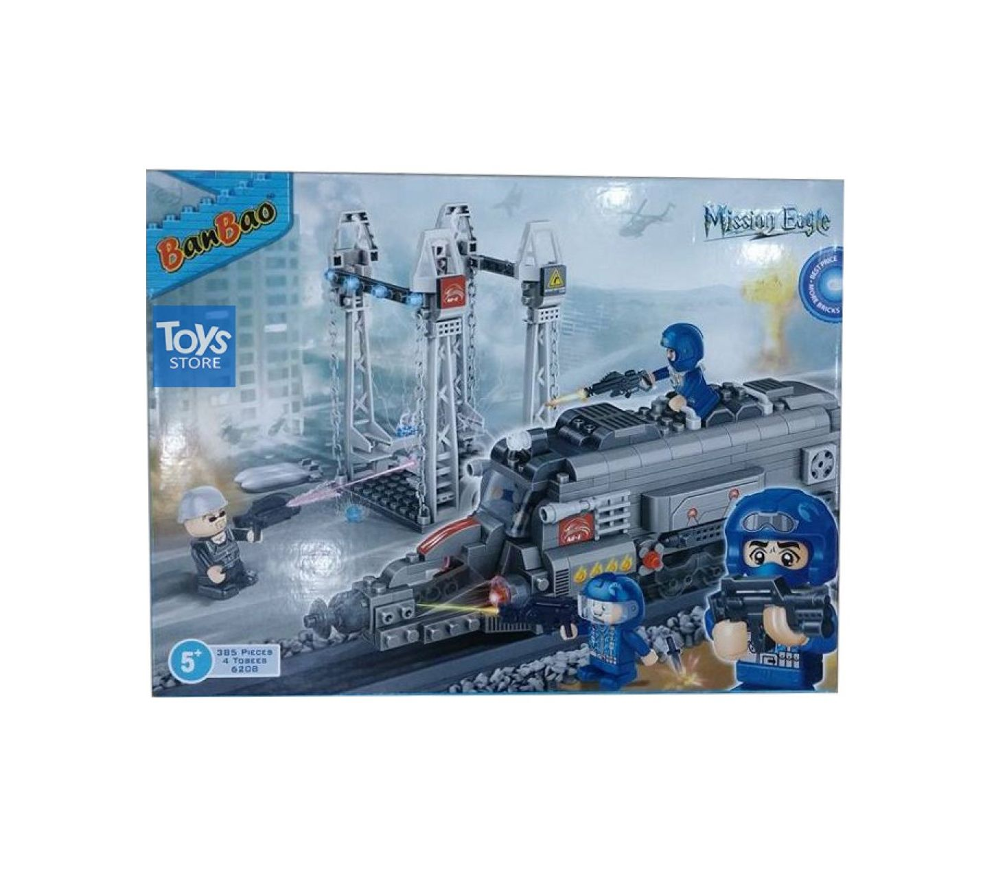 b6cd220adf2 Kid's Store :: Toys & Games :: SPECIAL FORCES TRAIN - MISSION EAGLE SERIES  By Toys Store - Savers.pk - Everything you are looking for!
