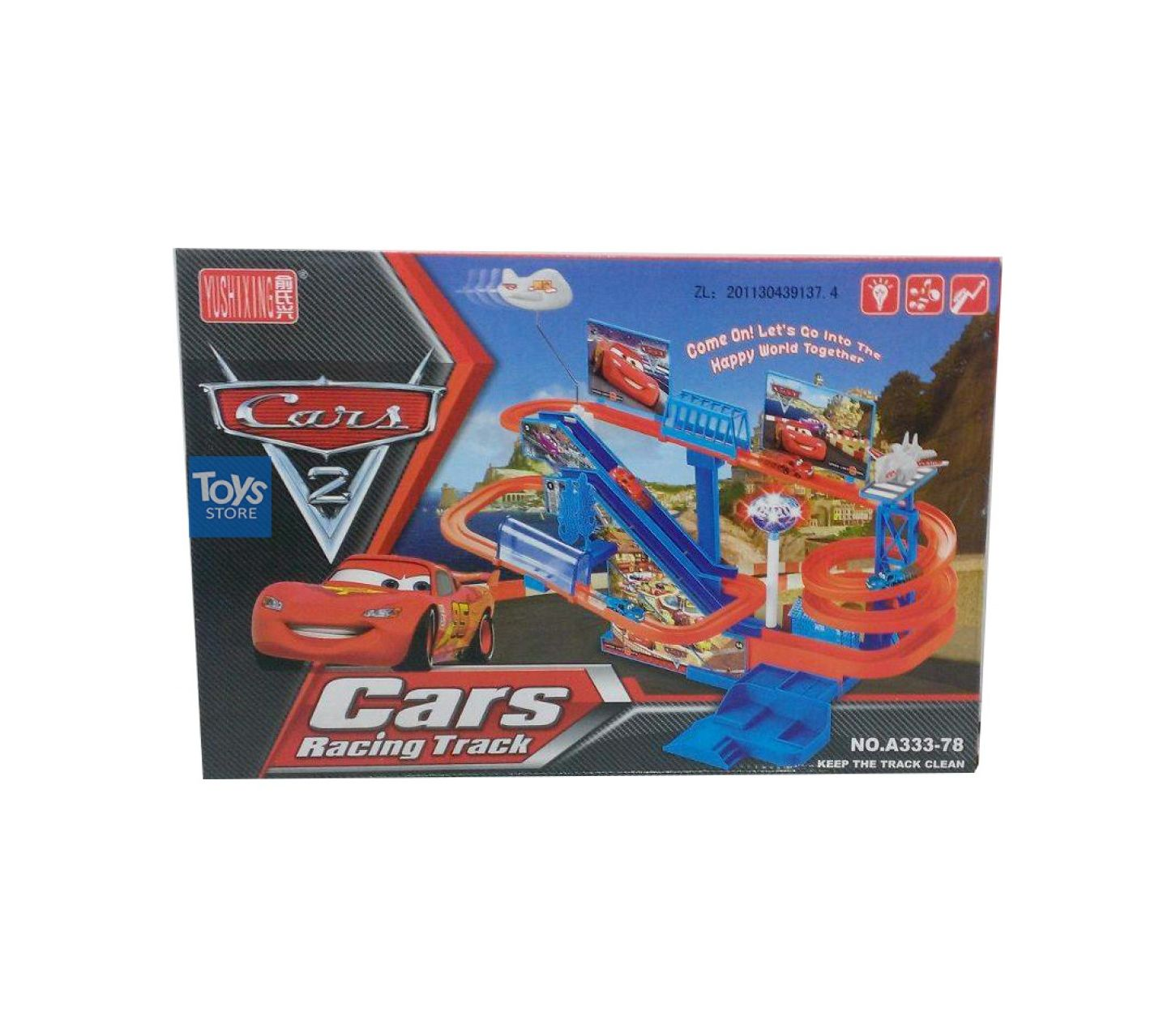 CARS 2 RACING TRACK By Toys Store