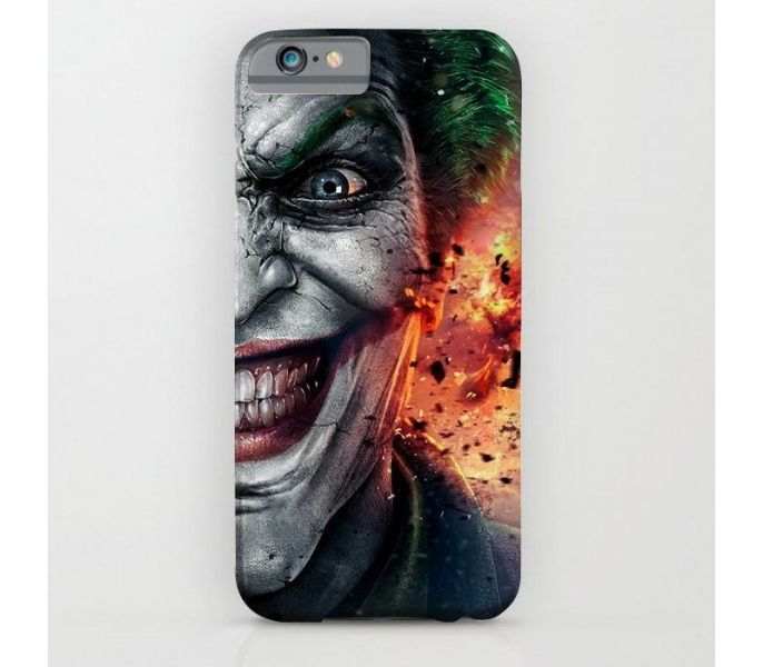 new product 00d09 6e107 Customizes Joker Blast Art Printed Mobile Back Cover Case IPhone