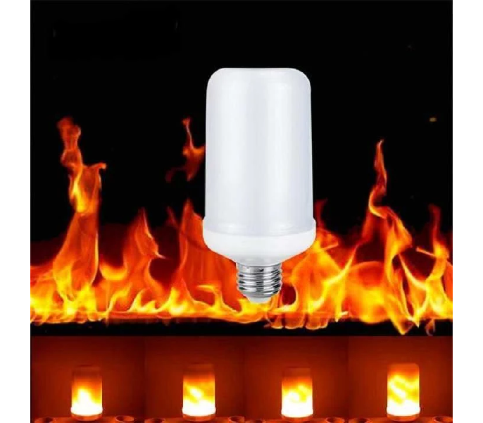 Led Flame Effect.Led Flame Lamps Led Flame Effect Light Bulb Flickering Emulation Fire Lights 5w