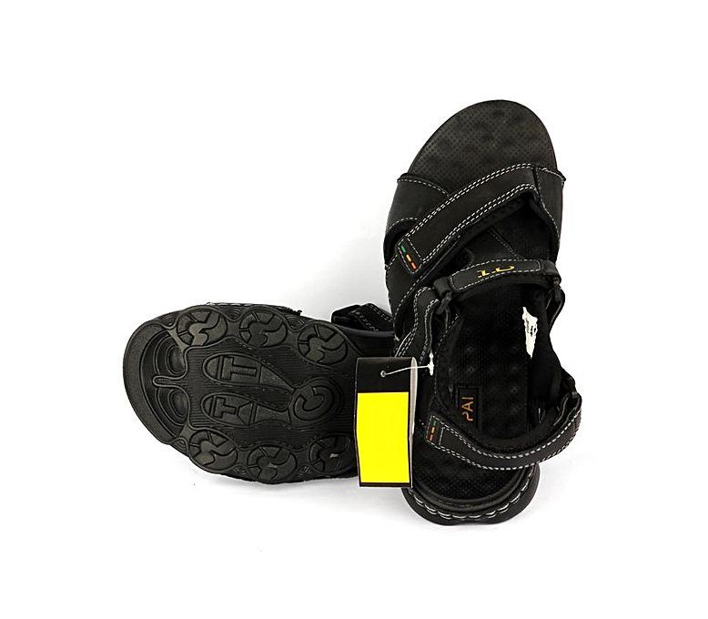 f0eb71727 Men s Fashion    Footwear    Sandals   Slippers    YNG Empire Black Leather  Sandals For Men - Savers.pk - Everything you are looking for!