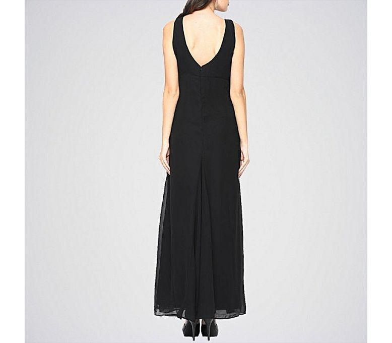 e86ac0ed52d ... Dresses   The Ajmery Women s Black Sleeveless Maxi Dress. E4H-21. 138  of 159. Hover over an image to enlarge