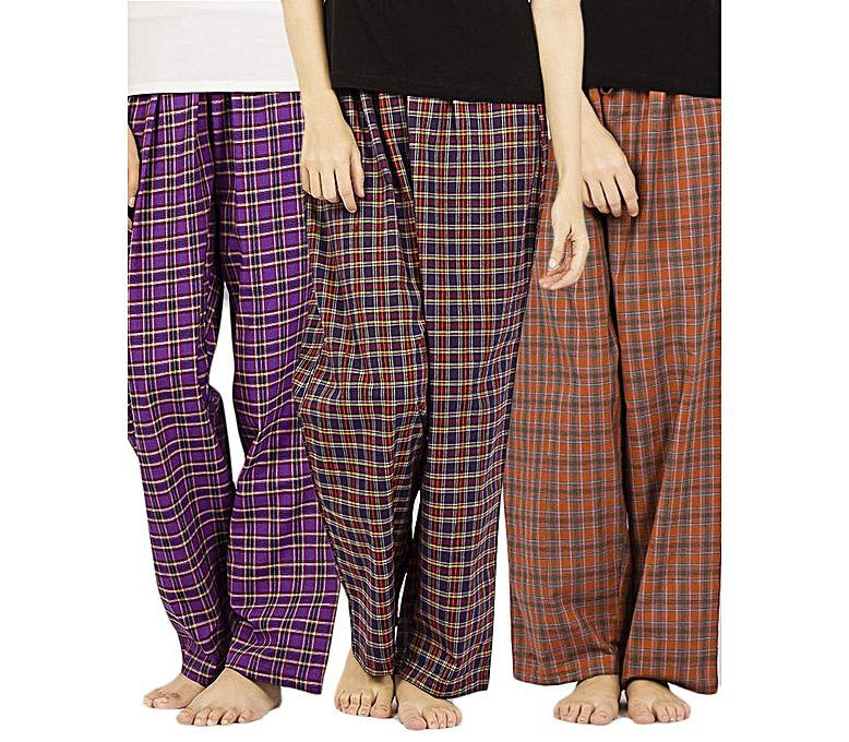 af5fcc8997 Women s Fashion    Eastern Clothing    Pants   Trousers    Valerie Pack of  3 70% Cotton   30% Polyester Ladies Pajama - PCJ-P3 - Savers.pk -  Everything you ...