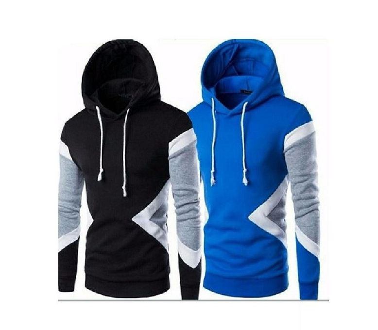 Seek Men/'s Pullover Hoodies Color Dark Blue
