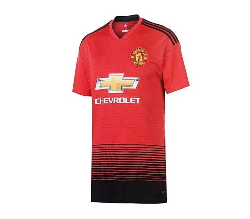 hot sale online 9a642 9353e Manchester United Home Kit 2018 2019 - Half Sleeves