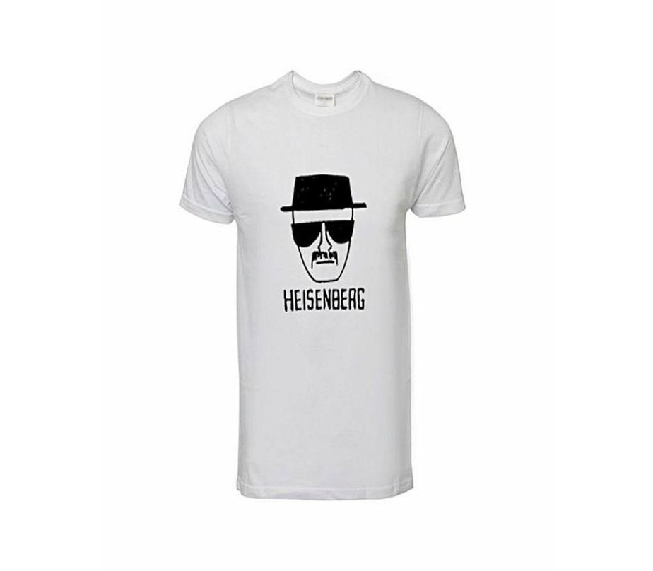 05ef42dfc2c0 Men s Fashion    Western Clothing    T-Shirts    Marhaba Mart Heisenberg  Printed T-Shirts For Men - Savers.pk - Everything you are looking for!