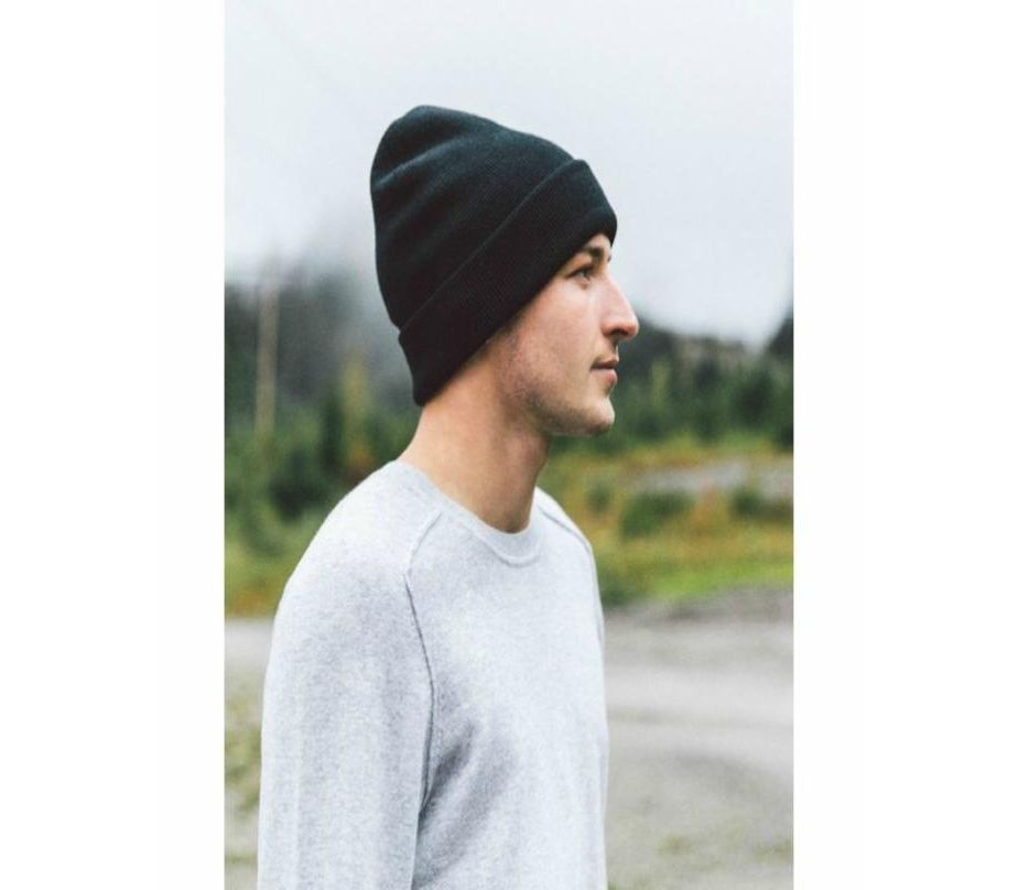19f6c1ce8a30 Men s Fashion    Fashion Accessories    Caps    Marhaba Mart Black Fleece  Cap For Men - Savers.pk - Everything you are looking for!