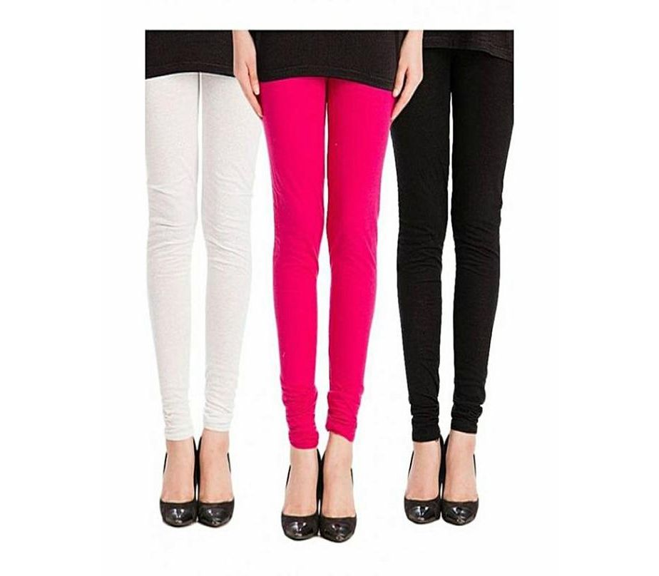 order online new arrivals shop for best Marhaba Mart Pack Of 3 - Multicolour Cotton Tights For Women