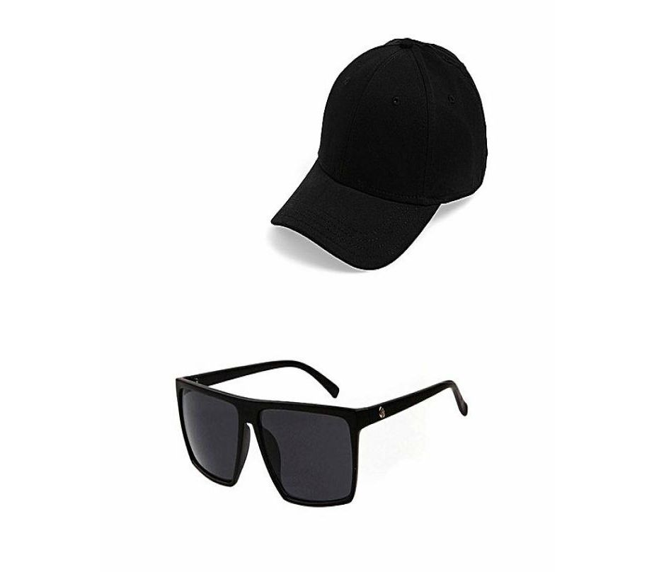 6023968f3466 Men s Fashion    Fashion Accessories    Caps    Marhaba Mart Bundle Of 2  Cap   Sun Glasses For Men - Savers.pk - Everything you are looking for!