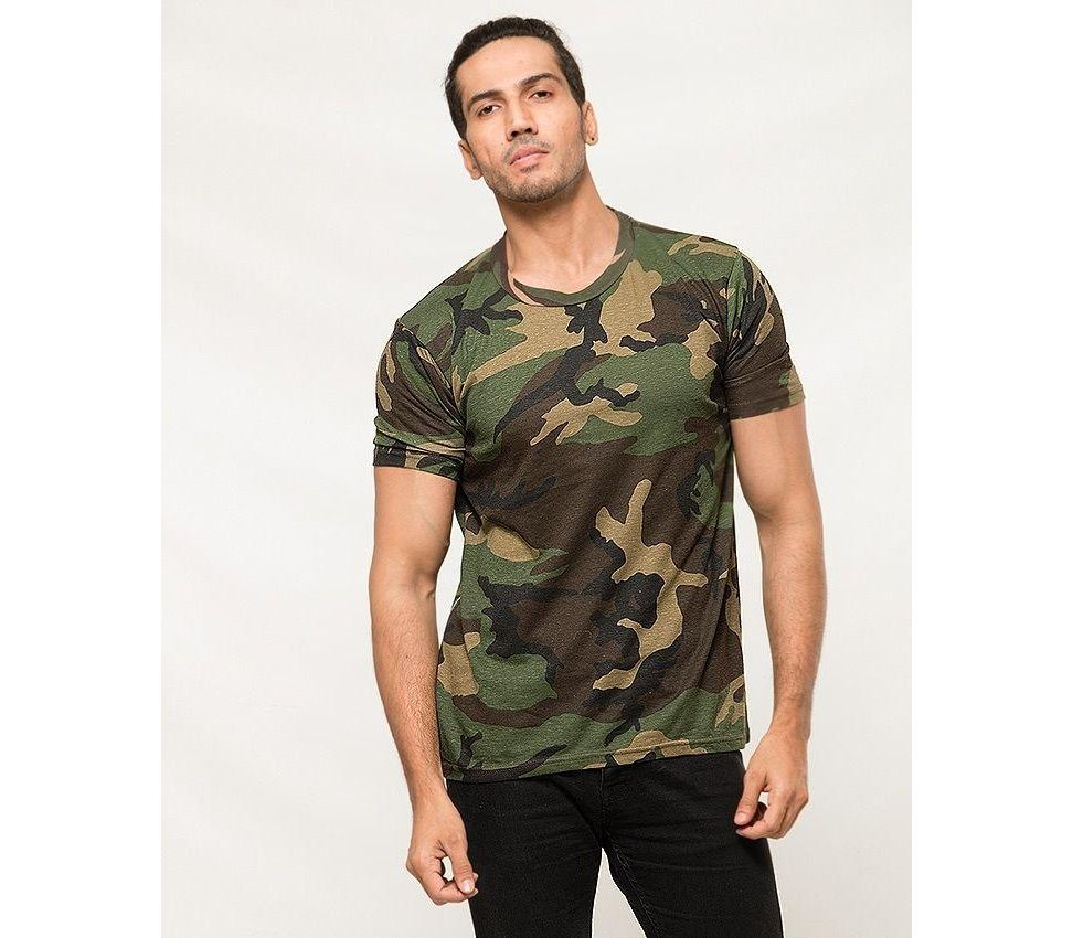 872bc0601 Men's Fashion :: Western Clothing :: T-Shirts :: A&G Camouflage Cotton Printed  T-Shirt for Men - Savers.pk - Everything you are looking for!